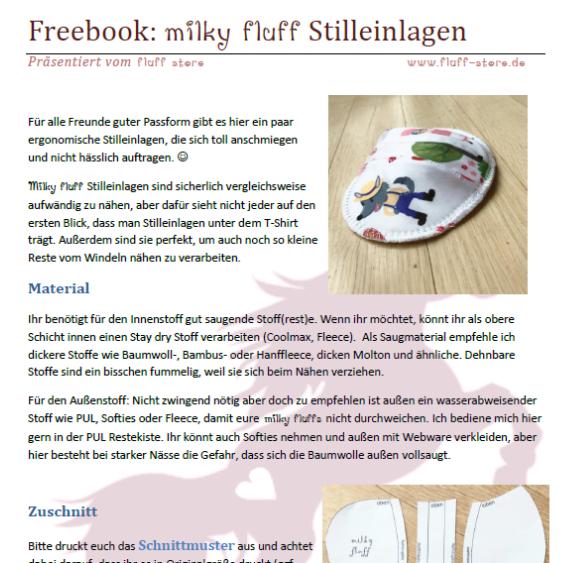 """Download FreeBook """"milk fluff Stilleinlagen"""""""