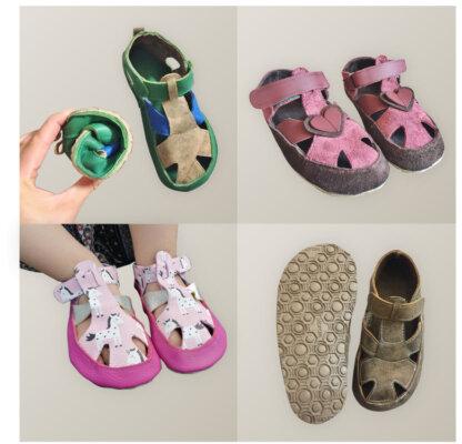 Schnittmuster Sandalen Kinder